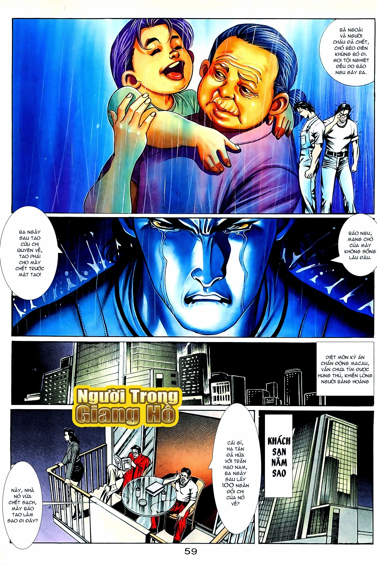 Người Trong Giang Hồ chapter 86: săn báo trang 2