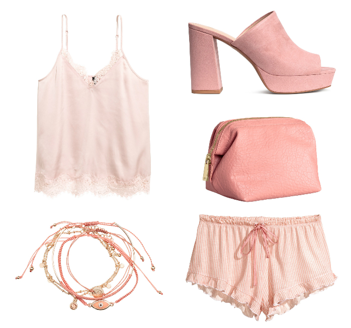 blush fashion items