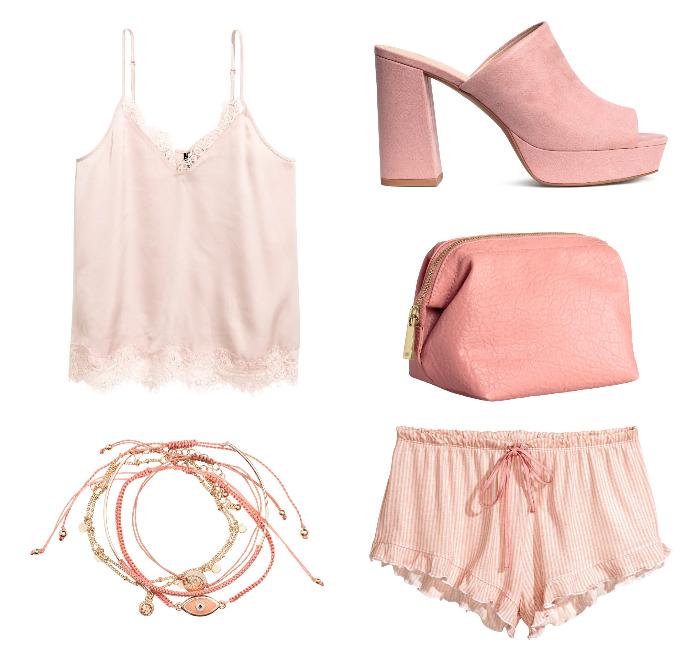 blush fashion items