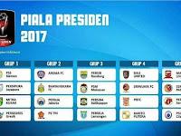 Live Streaming Piala Presiden 2017 Hari Ini di SCTV dan Indosiar