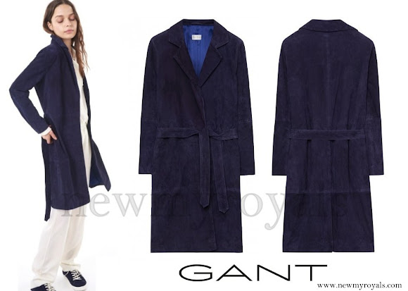 Princess Sofia wore GANT Rugger Suede Coat