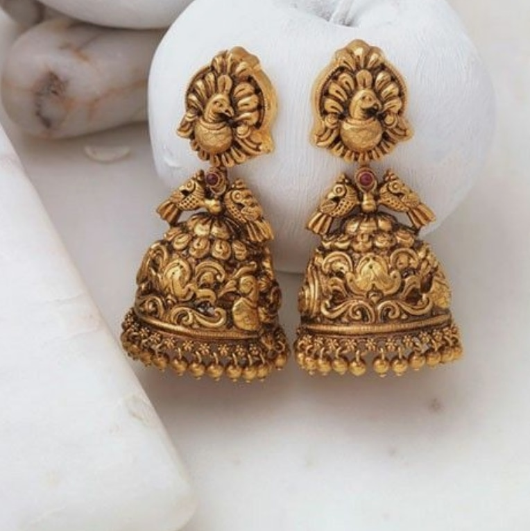 Latest Earring Designs In Gold 2019
