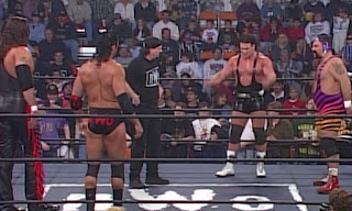 WCW NWO Souled Out 1997 Review - The Outsiders defended the tag titles against The Steiner Brothers