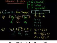 Rumus Kuartil (Qi), Desil (Di), Persentil (Pi) + Penjelasannya