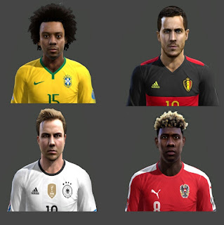 Facepack 2016 v5 Pes 2013 By Hamido