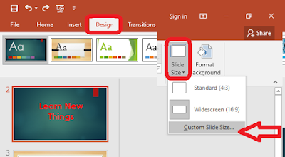How to Change Slide Size in PowerPoint Slide Page Setup,portrait and landscape in same ppt,how to page setup in ppt,powerpoint page setup,powerpoint slide size change,how to change slide size,how to change oreintation,Custom slide size,portrait slide,landscape slide,different slide size in same powerpoint,how to set,how to do,2003,2007,2010,2016,ppt slide change,slide size change,different slide size,width & height Change the slide size and orientation like portrait, landscape and custom slide size,  Click here for more detail..