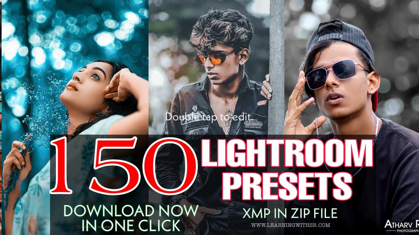 150 New lightroom presets 2020, 150 xmp presets download ...