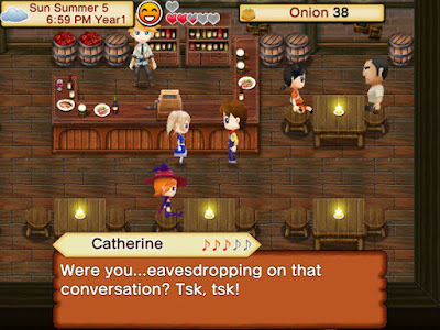 Tampilan Game HARVEST MOON Seeds Of Memories