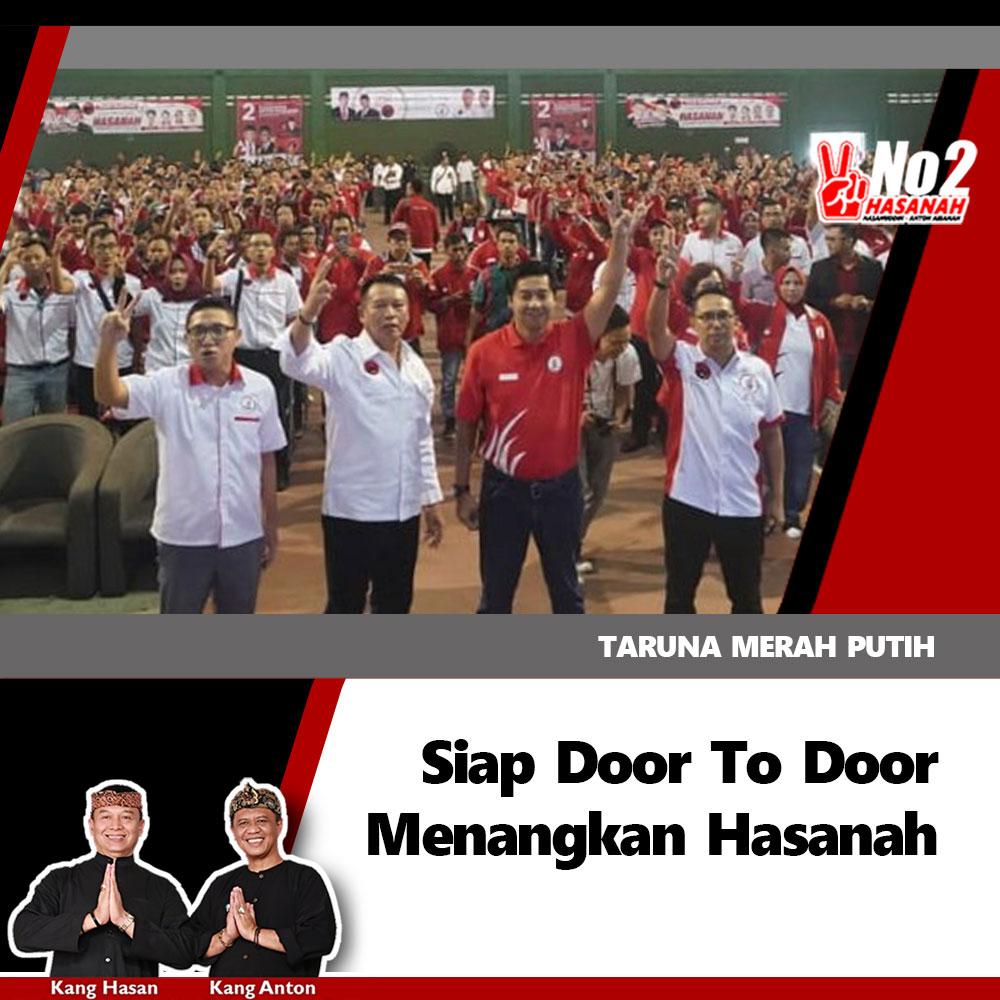 Taruna Merah Putih Siap Door To Door Menangkan Hasanah