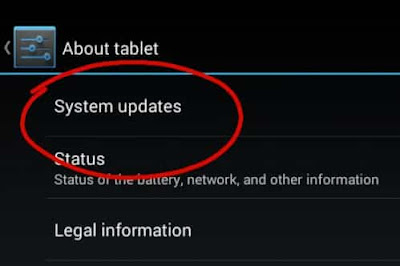 system update for android