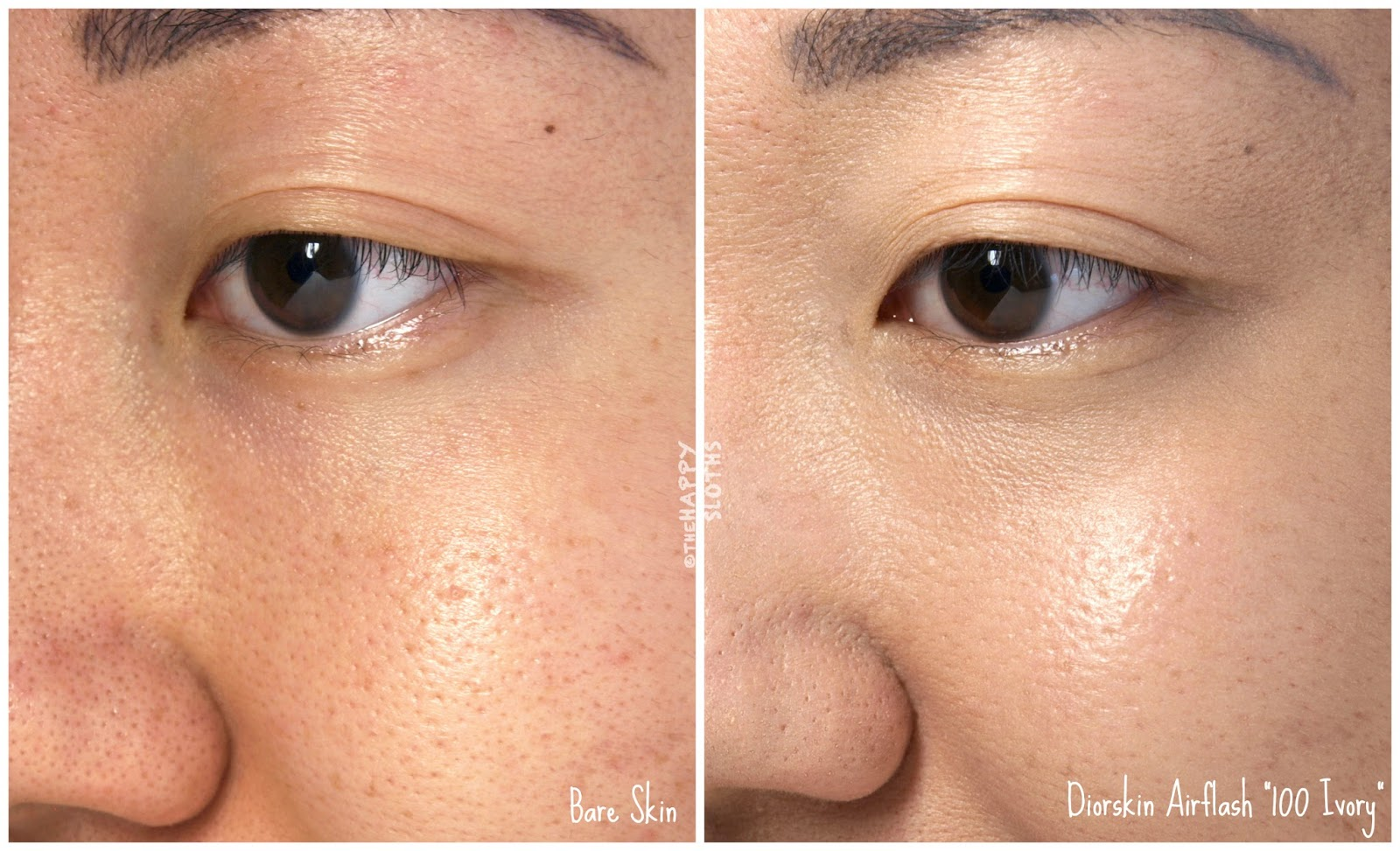 "Dior Diorskin Airflash Spray Foundation in ""100 Ivory"": Review and Swatches"