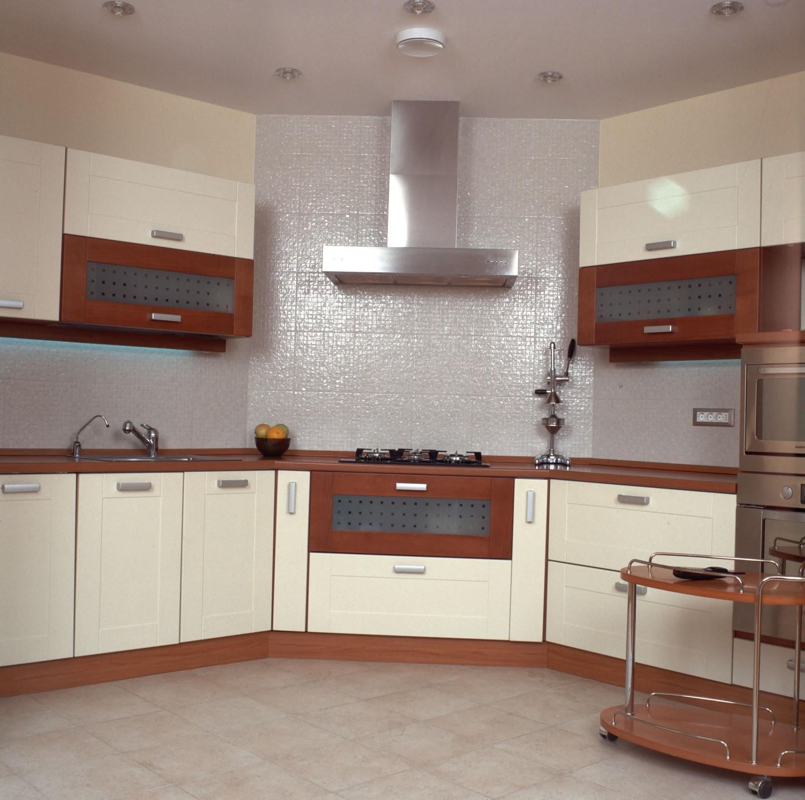Penggunaan Warna Putih Gambar Di Bawah Untuk Kabinet Dapur Nampak Bersih Tetapi Mungkin R Dijaga Atau Pelihara Kebersihannya