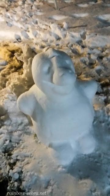 Снегозаврик