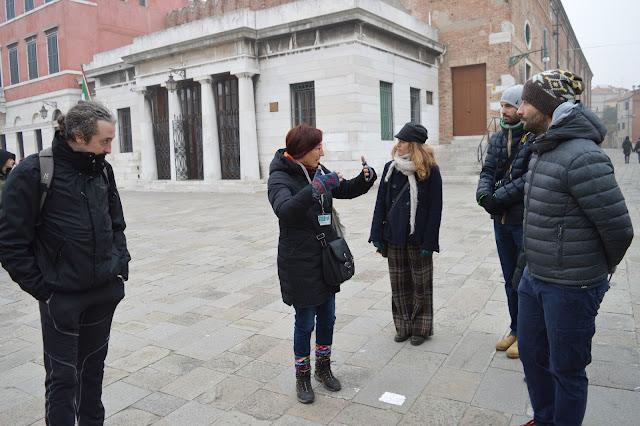 itinerario per castello a venezia