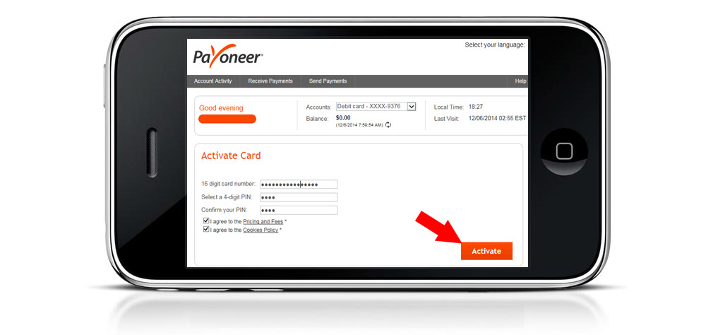 PAYPAL/PAYONEER ACCOUNT IN PAKISTAN APPROVED