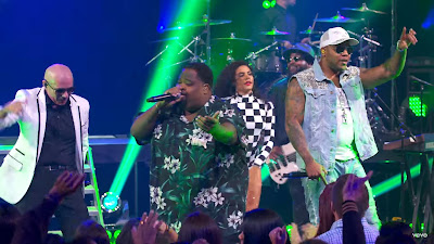 Pitbull - Greenlight ft. Flo Rida , LunchMoney Lewis ( Live on the Honda Stage at the iHeartRadio Theater LA )