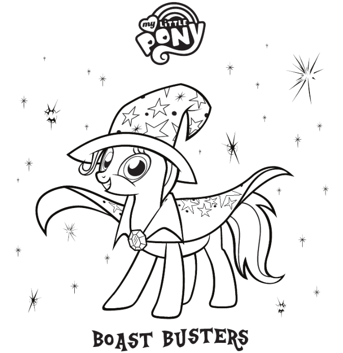 great and powerful coloring page