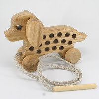TT43, Threading Dog, Lotes Wooden Toys