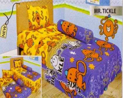 Sprei internal motif Mr. Tickle