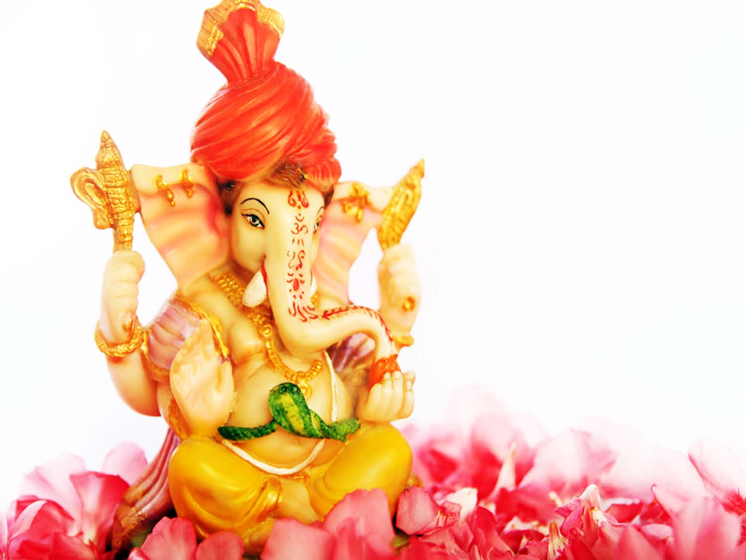 Cute Ganesha for happy vinayaka chaturthi
