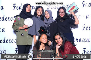 Photo Booth Wisuda