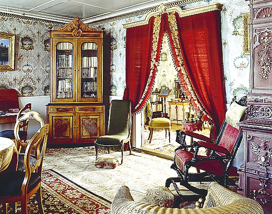 Art now and then victorian interiors - Victorian style house interior ...