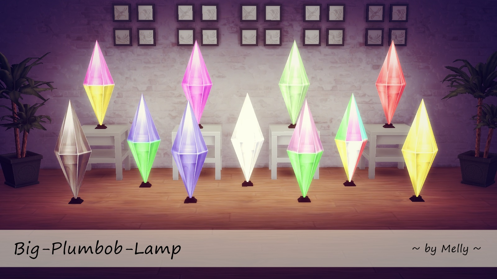 sims 4 cc's - the best: big plumbob lamp by melly, Badezimmer ideen