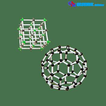Replika Struktur Molekul Polimer