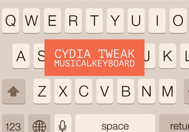 A new jailbroken cydia tweak called MusicalKeyboard allows you to play music with your keyboard that is when you type text through keyboard it produces musical instrumental sound randomly rather than the default iOS keyboard sound