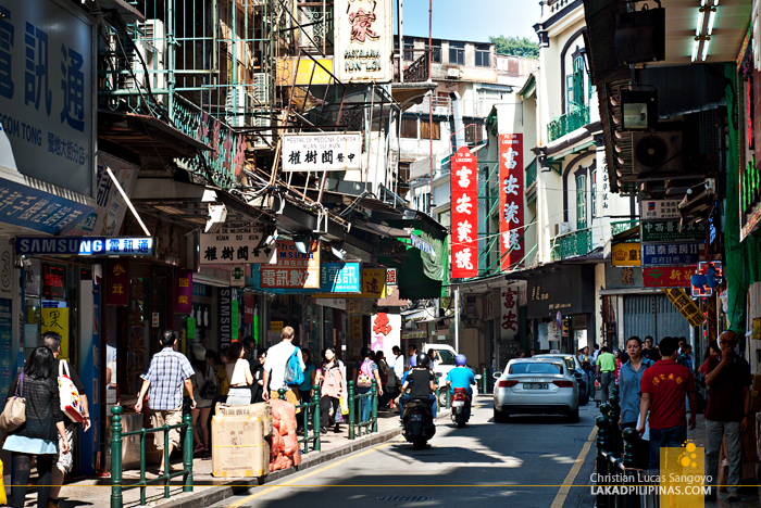 Street Macau China