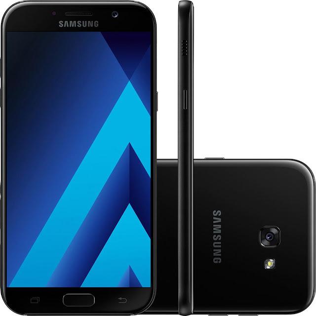 Smartphone Samsung Galaxy A7 Câmera 16MP Preto