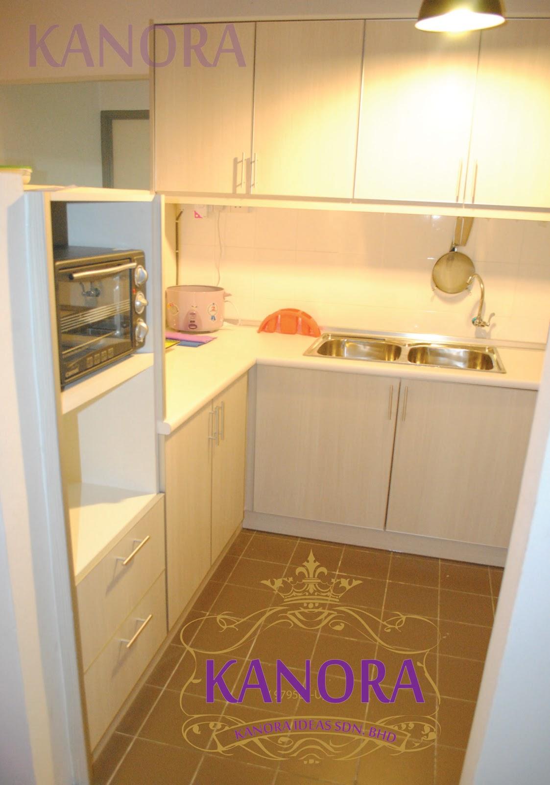 Kabinet Dapur Apartment Kecil Desainrumahidcom