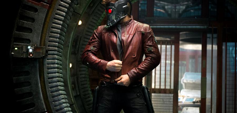 Chris Pratt este StarLord în Gardienii Galaxiei