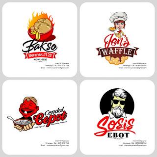 desain logo makanan