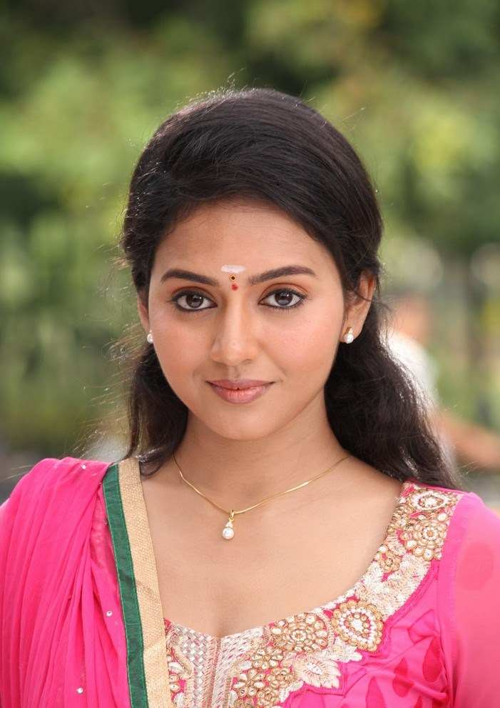 Vidya Pradeep Hot Photos In Orange Dress