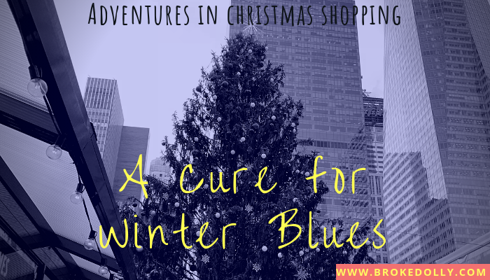 Adventures in Christmas Shopping: A Cure for Winter Blues