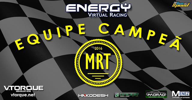 Energy Virtual Racing - Campeã MRT 2016 vTorque