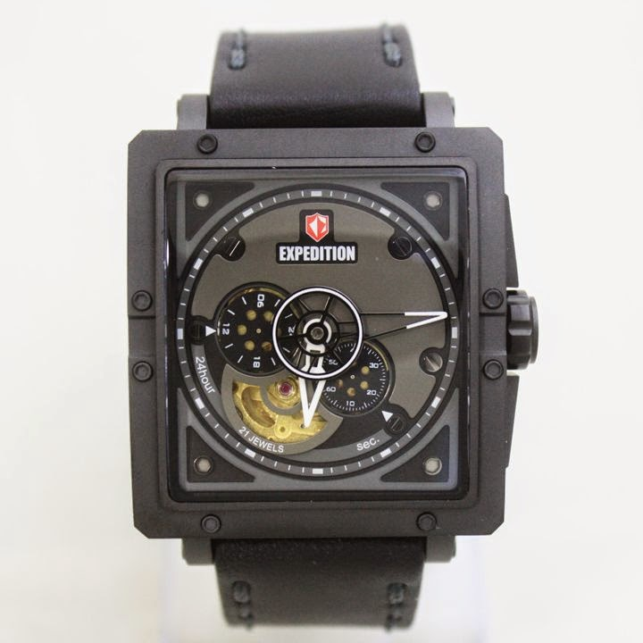 EXPEDITION E6640MA AUTOMATIC Black Black 42mm 5atm