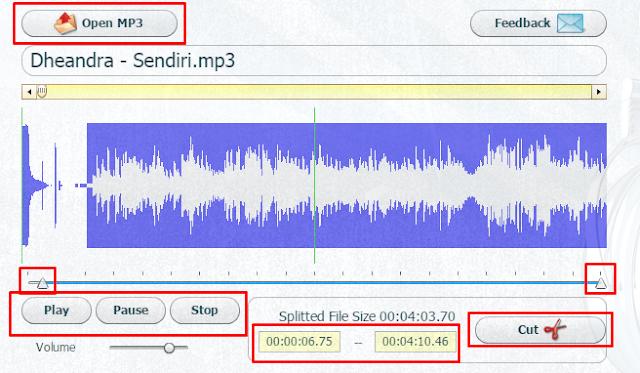Cara Mudah Cut/Crop Lagu Tanpa Software