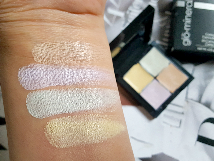 Review & Swatches: glominerals - Corrective Camouflage Kit - 4.25g - 39.50 Euro