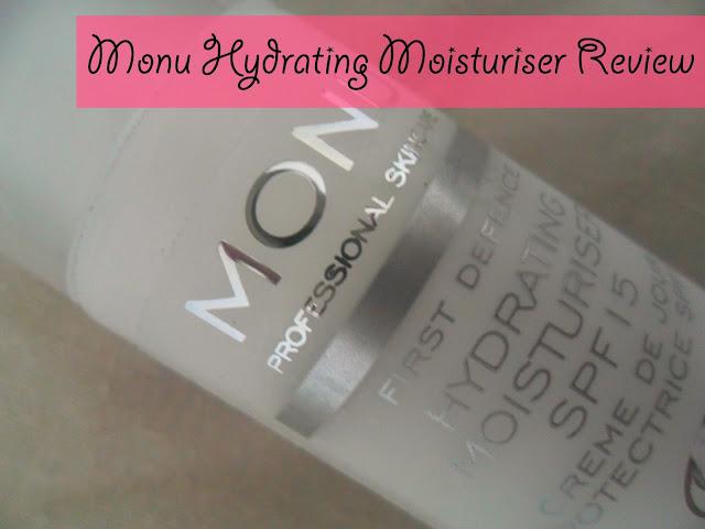 Monu Professional Skincare Hydrating Moisturiser