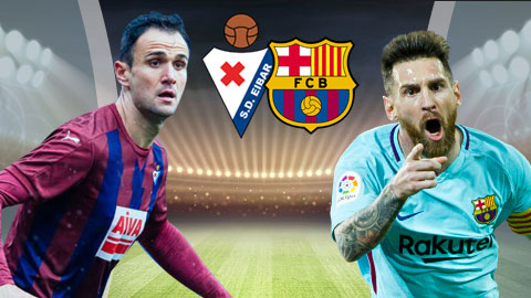 Trận đối đầu giữa Barca vs Eibar
