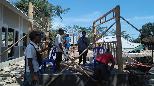 Perkumpulan Skala bersama CSR Sampoerna Untuk Indonesia Bangun Fasum dan Fasos di Lombok