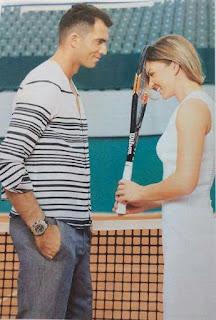 Simona Halep And Her Boyfriend Horia Tecau Sharing Cute Moment