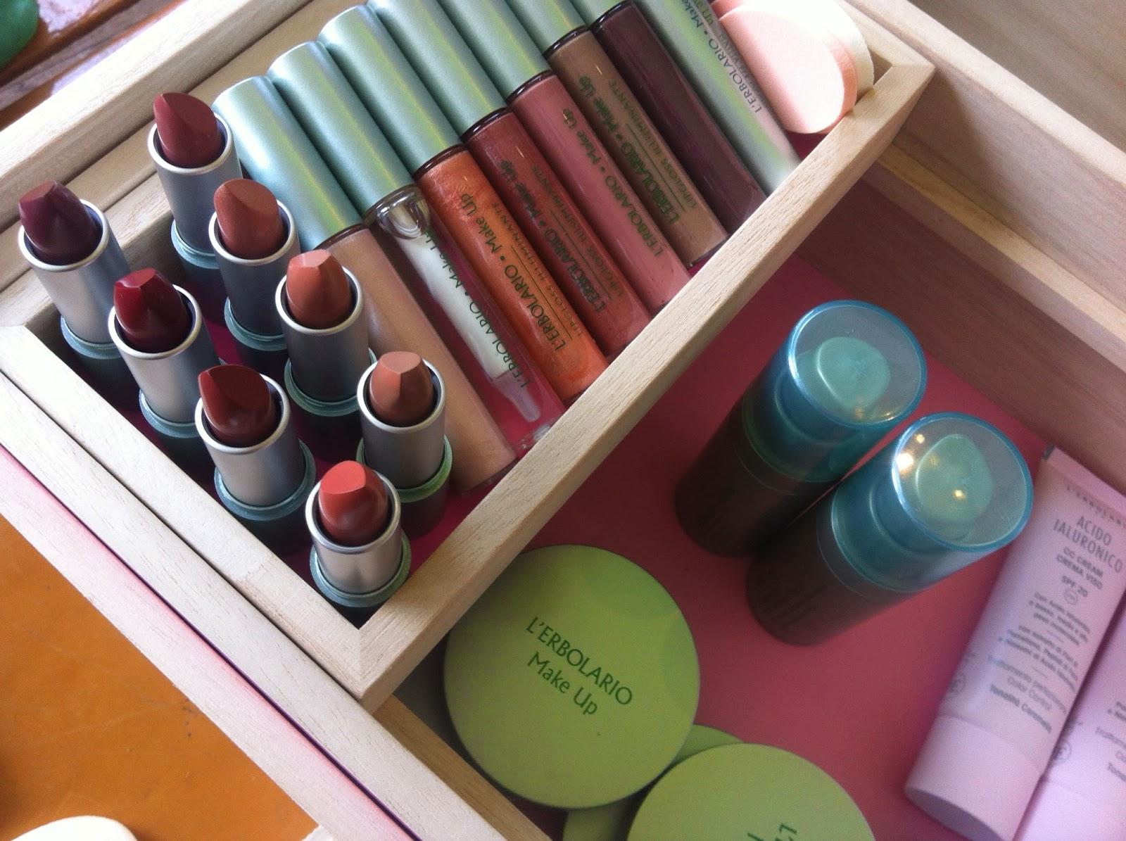 Erbolario, cosmetici, creme, profumi, make up, sede Lodi