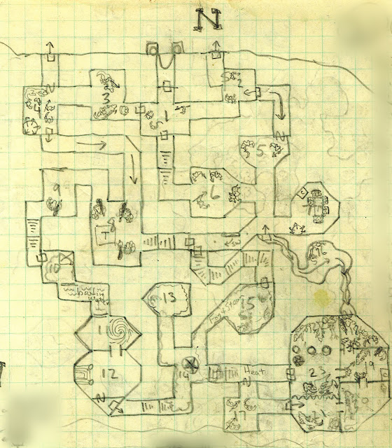 Dnd Maps Red Dragon Lair