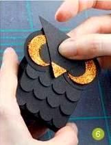 Cara Membuat Kerajinan Tangan Dari Kertas, Burung Hantu Kertas
