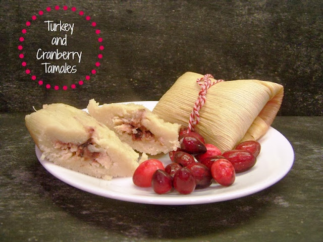 Turkey and Cranberry Tamales by 504 Main #FreshFinds