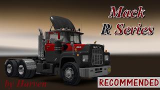 ats mack r series truck mod