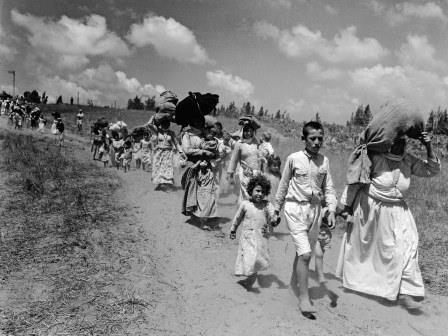 A tragédia permanente dos refugiados palestinos